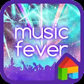 Music Fever dodol theme
