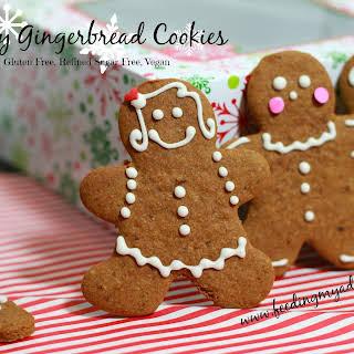 Healthy Gingerbread Cookies.