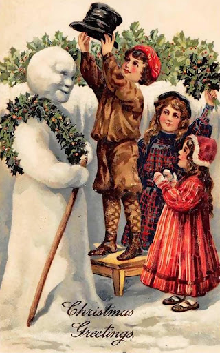 Winter Holidays Vintage Free