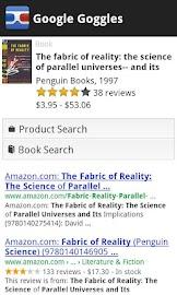 Google Goggles Screenshot 5