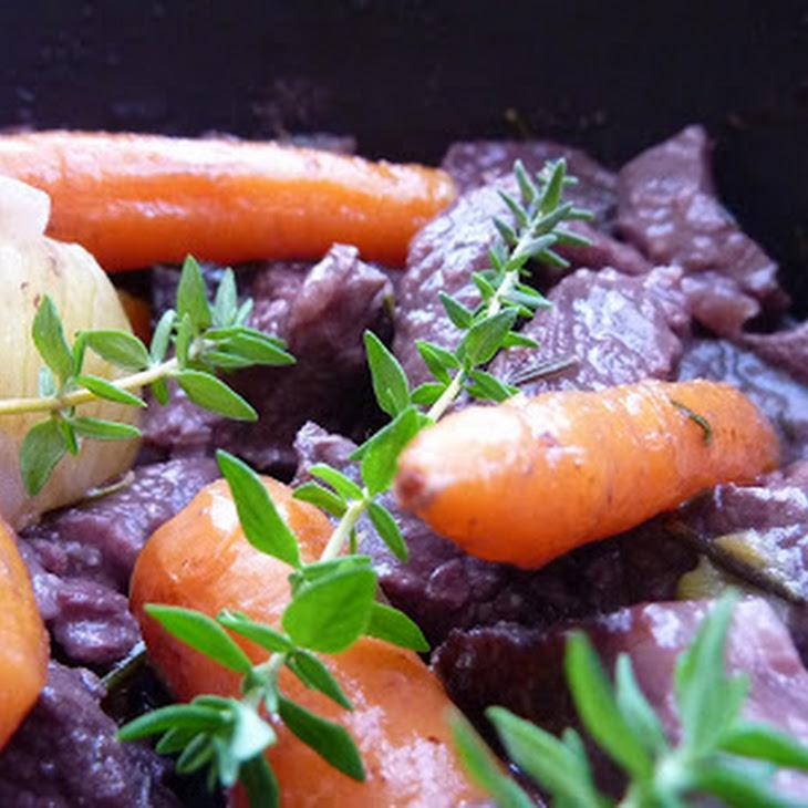 Simple Beef Burgundy Recipe