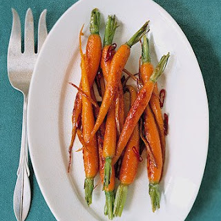 Glazed Carrots and Ginger.