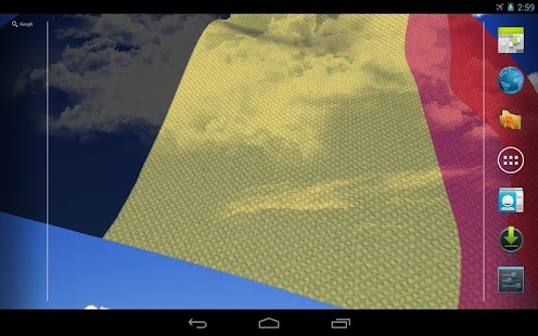 3D Belgium Flag Live Wallpaper - screenshot thumbnail