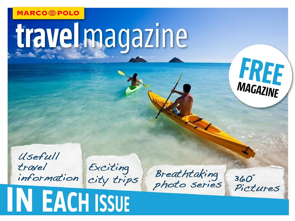 MARCO POLO Travel Magazine - screenshot