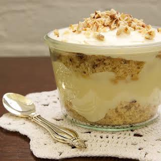 Individual Italian Cream Cake Trifles.