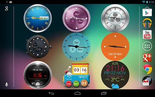 Beautiful Clock Widgets
