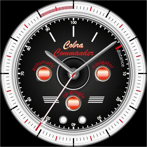 Cobra Commander Facepak Wear