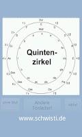 Screenshot of Tonleitern/Quintenzirkel üben