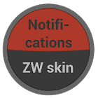 Notifications Zooper Skin icon