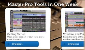 Screenshot of Master Pro Tools in One Week