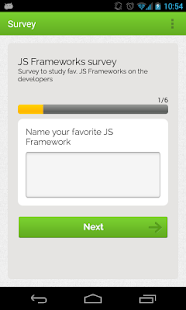 GetSurveyApp- screenshot thumbnail