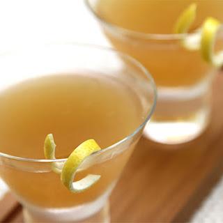 Bourbon Sidecar with lemon bitters.