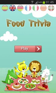 Food Trivia Quiz - Guess it! - screenshot thumbnail