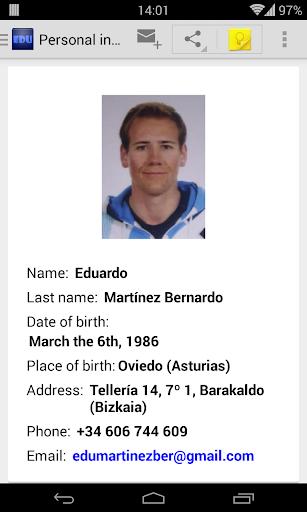 CV Eduardo Martínez