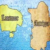Lensmoor World Map