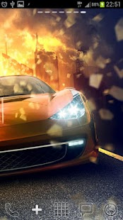 Hot Sports Cars Live Wallpaper - screenshot thumbnail