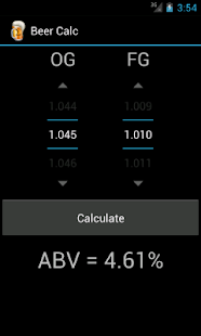 Beer Calc - screenshot thumbnail