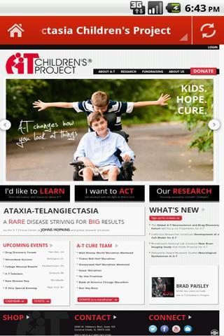 【免費健康App】Ataxia Telangiectasia-APP點子