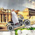 Pope ride that bike logo