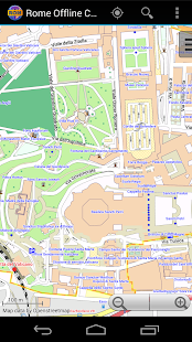 Rome Offline City Map- screenshot thumbnail