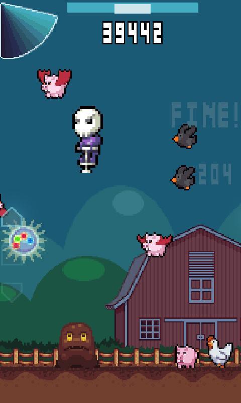 Skullpogo screenshot #2