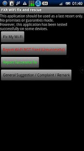 FXR WiFi fix and rescue - screenshot thumbnail