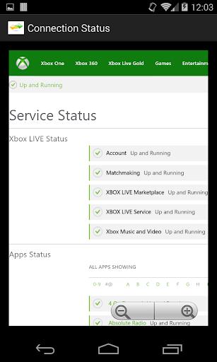 【免費娛樂App】Gaming Connection Status-APP點子