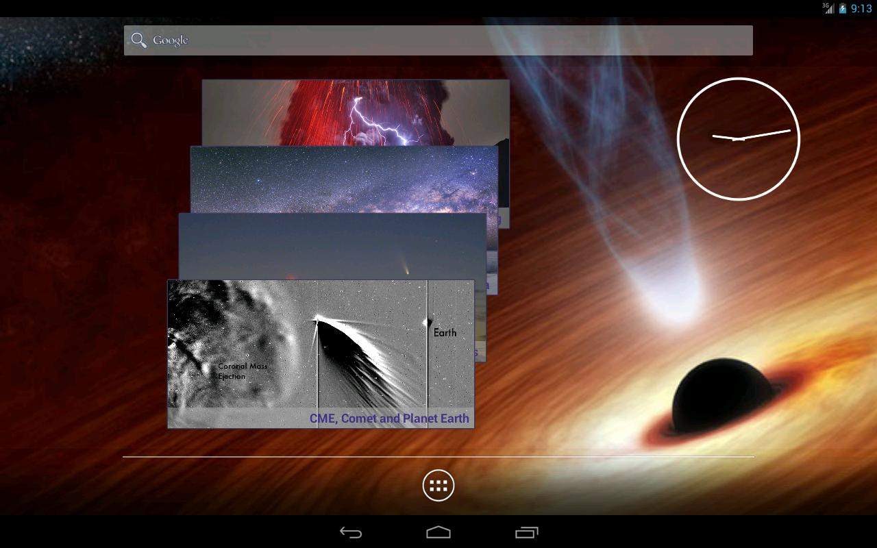 APOD widget - screenshot