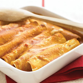 Vegetable Enchiladas.