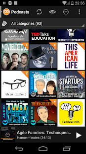 Podcast Addict - screenshot thumbnail