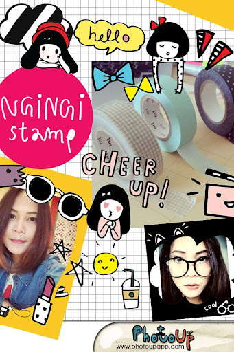 NgiNgi Stamp by PhotoUp