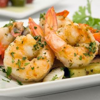 Pan-Seared Garlic Shrimp