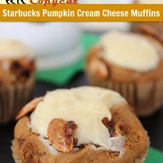 Copycat Starbucks Pumpkin Cream Cheese Muffins.
