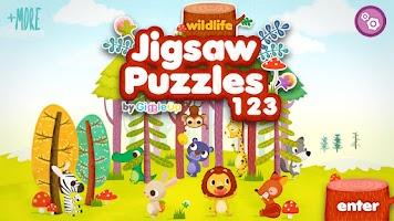 Screenshot of Wildlife Jigsaw Puzzles Free