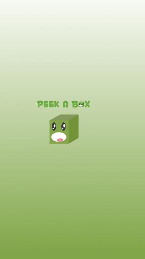 Peek a box