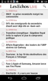 Les Echos Live - screenshot thumbnail