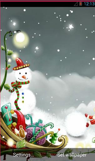 Christmas Snowflakes LW