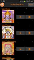 Screenshot of Mantras of Indian Gods