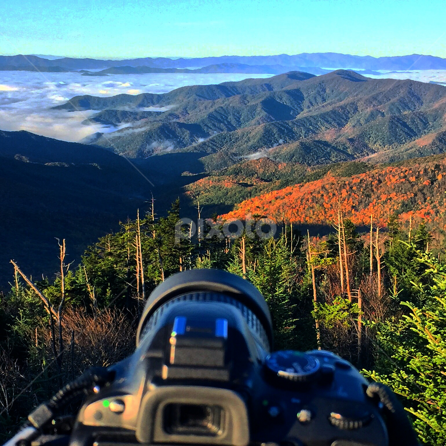 Clingman's Dome by Chuck Hagan - Instagram & Mobile iPhone (  )