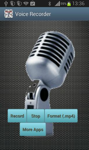 录音机是一个简单而有用的录音机程序