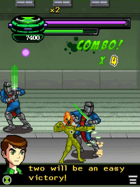 Ben 10 Vengeance of Vilgax - screenshot