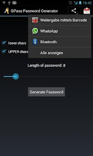 GPass Password Generator - screenshot thumbnail
