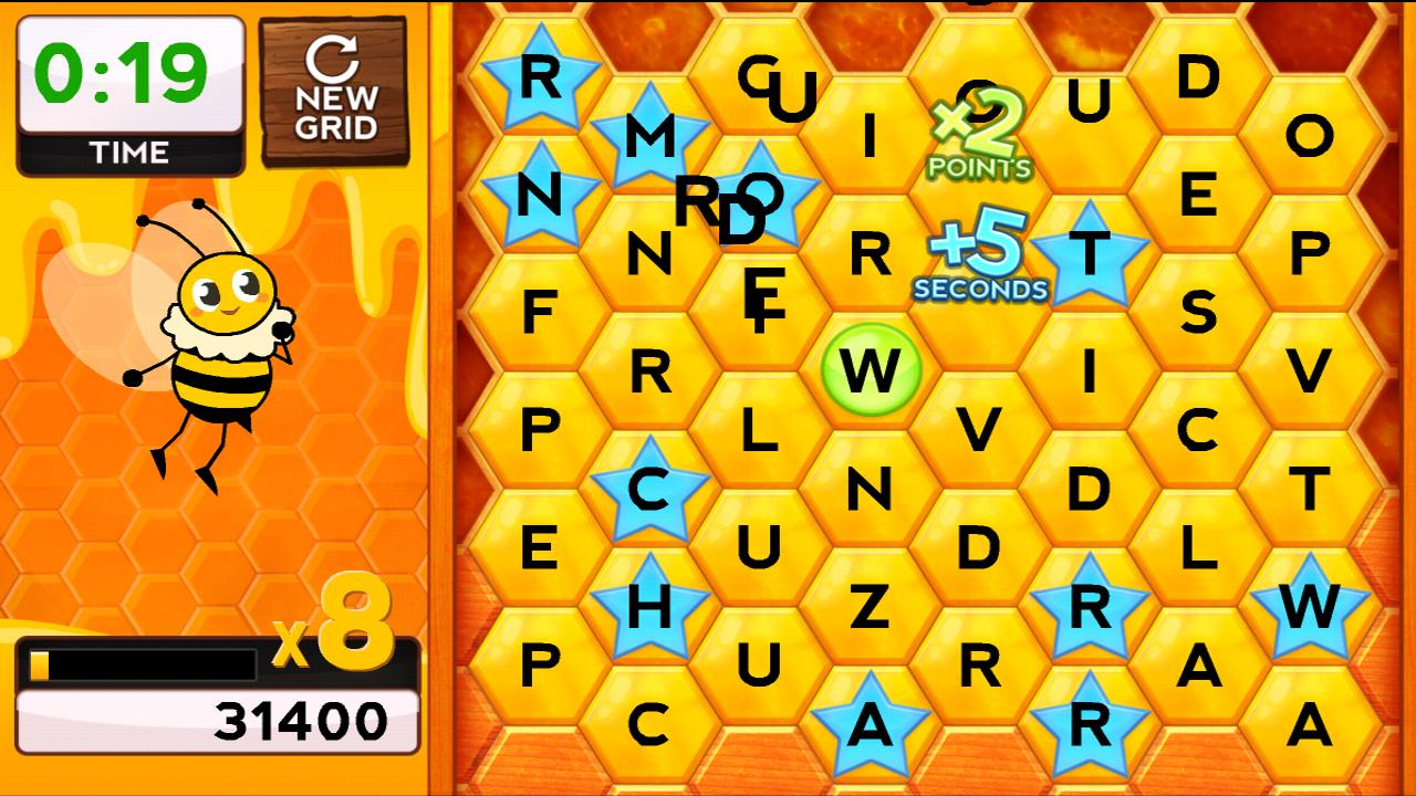 Words with Bees HD FREE - screenshot