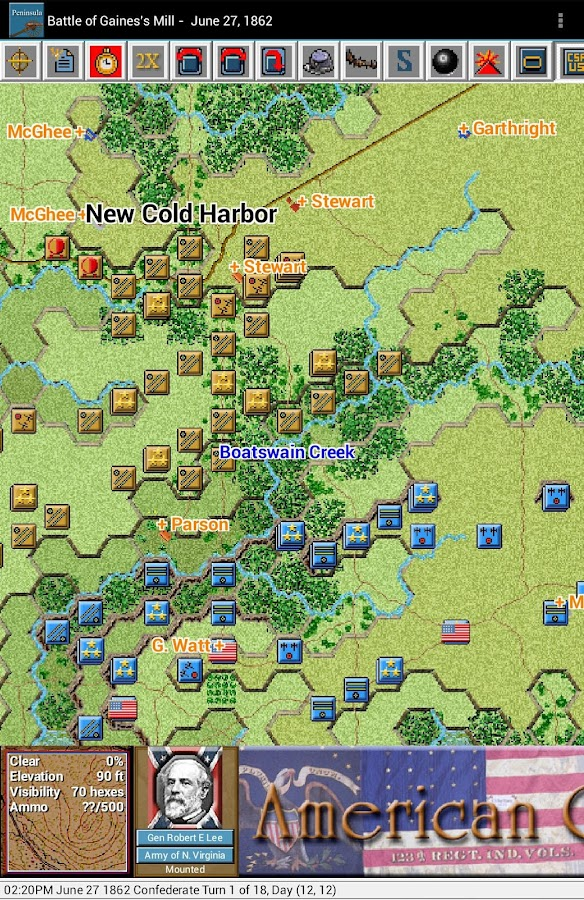 Civil War Battles - Peninsula- screenshot