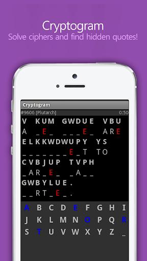 【免費解謎App】Cryptogram for Purplenamu-APP點子