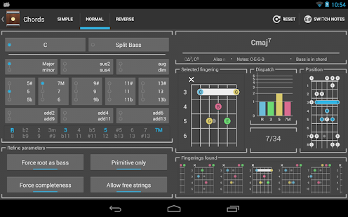Chord! (Guitar Chord Finder) - screenshot thumbnail