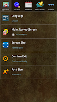 Screenshot of SunMoonCal