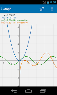 Algeo graphing calculator - screenshot thumbnail