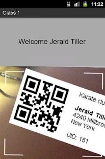 DojoExpert QR code scanner- screenshot thumbnail