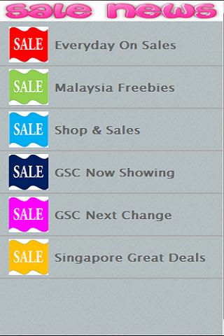 Malaysia Sale Deal